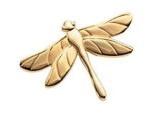 CleverSilver's 14K Yellow Gold The Dragonfly Brooch 3 1. 7 5X 2 3. 0 0 Mm