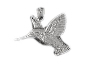CleverEve's Sterling Silver Pendant Humming Bird Themed