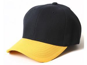 Plain Blank Baseball Adjustable Velcro Hat
