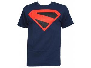 Officially Licensed DC Comics Kingdome Come Superman Logo T-Shirt, L