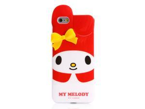 My Melody Red w/ Yellow Bow Die Cut Case for iPhone 6