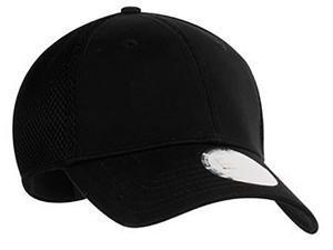 New Era Stretch Mesh Cap, Black/Black, L/XL