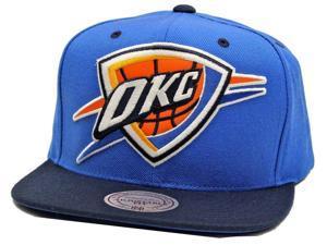 Mitchell & Ness NBA Reflective XL Current Logo Snapback Hat - Oklahoma City