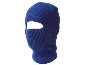 One Hole Royal Blue Ski Face Mask