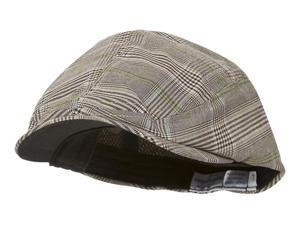 Fashion Plaid Ivy Cap - Brown - Small