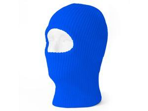 TopHeadwear One 1 Hole Ski Mask - Royal
