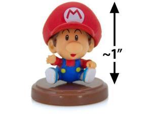 """Baby Mario ~1"""" Mini Figure [Super Mario Choco Egg Mini-Figure Series #3 - NO CAN"""