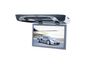 "TVIEW 20"" BLACK FLIP DOWN CAR MONITOR DVD/CD PLAYER"