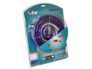 Lanzar AMPKIT0 5000 WATT 0/1 Ga/Gauge Amp Wiring/Wire Installation Kit + RCA