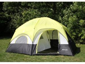 Tahoe Gear Coronado 12 Person Dome 3-Season Family Cabin Tent