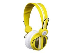 VM Audio Shaker SRHP5 Stereo Over-Ear DJ Headphones (Yellow)