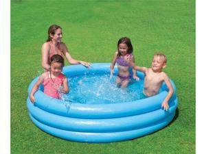 "INTEX Crystal Blue Kids Outdoor Inflatable 66"" Swimming Pool 