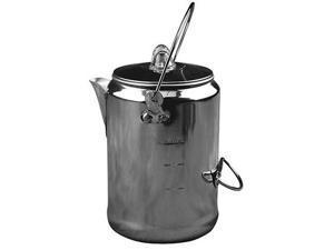 Coleman 9 Cup Aluminum Coffeepot Silver 2000016428
