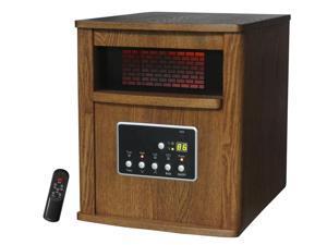 LifeSmart LS-W6-IQH 1500 Sq Ft 6 Infrared Quartz Electric Portable Heater