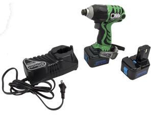 "Hitachi WH12DMR 12V NiCad Cordless 1/4"" Hex Impact Driver Screw/Drill Driver"