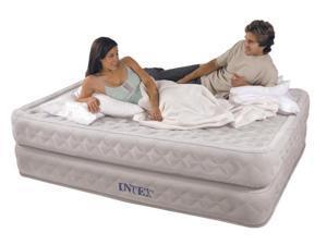 INTEX Supreme Air-Flow Queen Air Bed Mattress & Pump