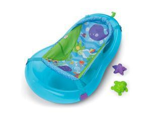 Fisher Price Aquarium Center Baby Infant Bath Tub