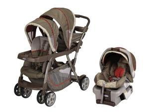 Graco Ready2Grow LX Duo Baby Stoller & SnugRide 30 Travel System