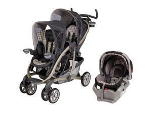Graco Quattro Tour Duo Inline Baby Stroller & SnugRide 35 Car Seat - Vance