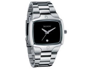 Nixon Mens Diamond Player Stainless Steel Watch A140-000-00