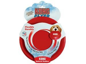 Kong Company Kong Rubber Flyer, Red, Small - KF15