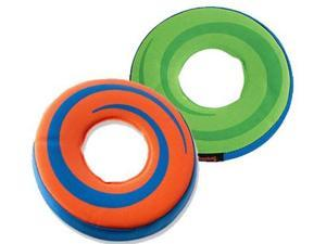 Canine Hardware Amphibious Flying Ring (Assorted Colors - Green/Orange)
