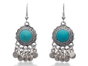 Trendy Turquoise Chandelier Dangle Earrings