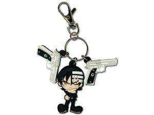 Soul Eater Kids & Gun Pvc Keychain