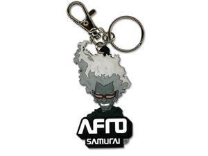 Afro Samurai Ninja Ninja Pvc Keychain