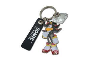 Sonic The Hedgehog Shadow Metal Keychain