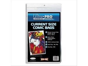 Ultra Pro Comic Bags: Current Size