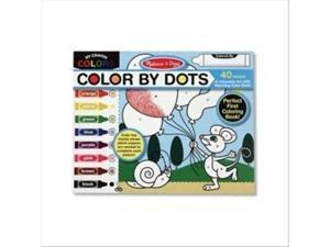 Melissa & Doug My Crayon Colors - Color By Dots