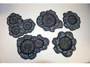 Crater Set Painted (5 Craters)