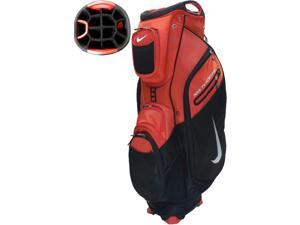 NEW Nike Golf Performance Cart II Bag Carry Red / Black 14-way Top Cooler Pocket