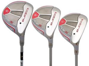 NEW Lady Cobra Golf FLY-Z XL 3 5 & 7 Fairway Wood Set Womens Flex - 2015