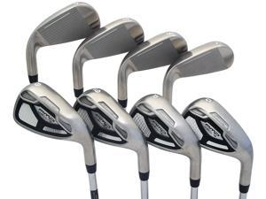 NEW Cobra AMP Cell S 4-PW+GW Irons Steel Uniflex