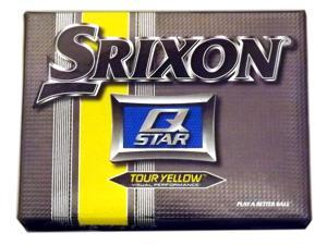 1 Dozen NEW Srixon Golf Q Star Tour Yellow 12 Golf Balls Visual Performance