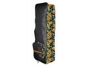 NEW LoudMouth Travel Cover for Golf Bag by MolhiMawk Black / Shagadelic