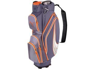 NEW Puma Golf Formstripe Cart Bag 14-way Top Folkstone / Orange Form Stripe