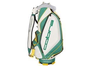 NEW Cobra Limited Edition Masters Staff Bag 6-way 9.5 Top Green Retail: $400