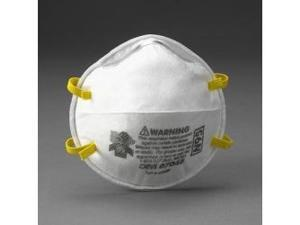 3M 7048 Disposable N95 Particulate Respirator Mask - 20-Pack
