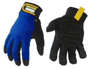 Youngstown Glove 06-3020-60-L Mechanics Plus Performance Glove, Blue - Large
