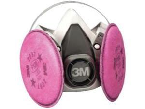 7182 Half Facepiece Respirator Packout Medium with Particulate Filters