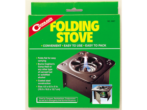 Coghlan's 9957 Stove F/Canned Fuel Folding Camping Accessory