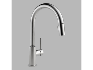 Delta 9159-AR-DST Trinsic Single-Handle Pull-Down Sprayer Kitchen Faucet in Arct