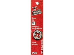 Vermont American 21241 10MM To 1.25MM Metric Hex Dies