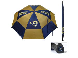 Team Golf 32569 State Louis Rams 62 in. Double Canopy Umbrella