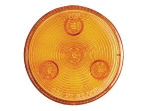 Optronics MCL-57AK AMBER 2-1/2in LED Marker/Clearance Light Amber