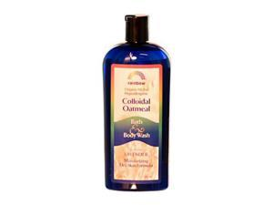 RAINBOW RESEARCH Body Wash, Coll Oatmeal, Lvndr, 12 oz ( Triple Pack)