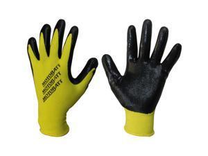 MotoBatt Technicians Gloves Nitrile Coated Palm Small-Medium